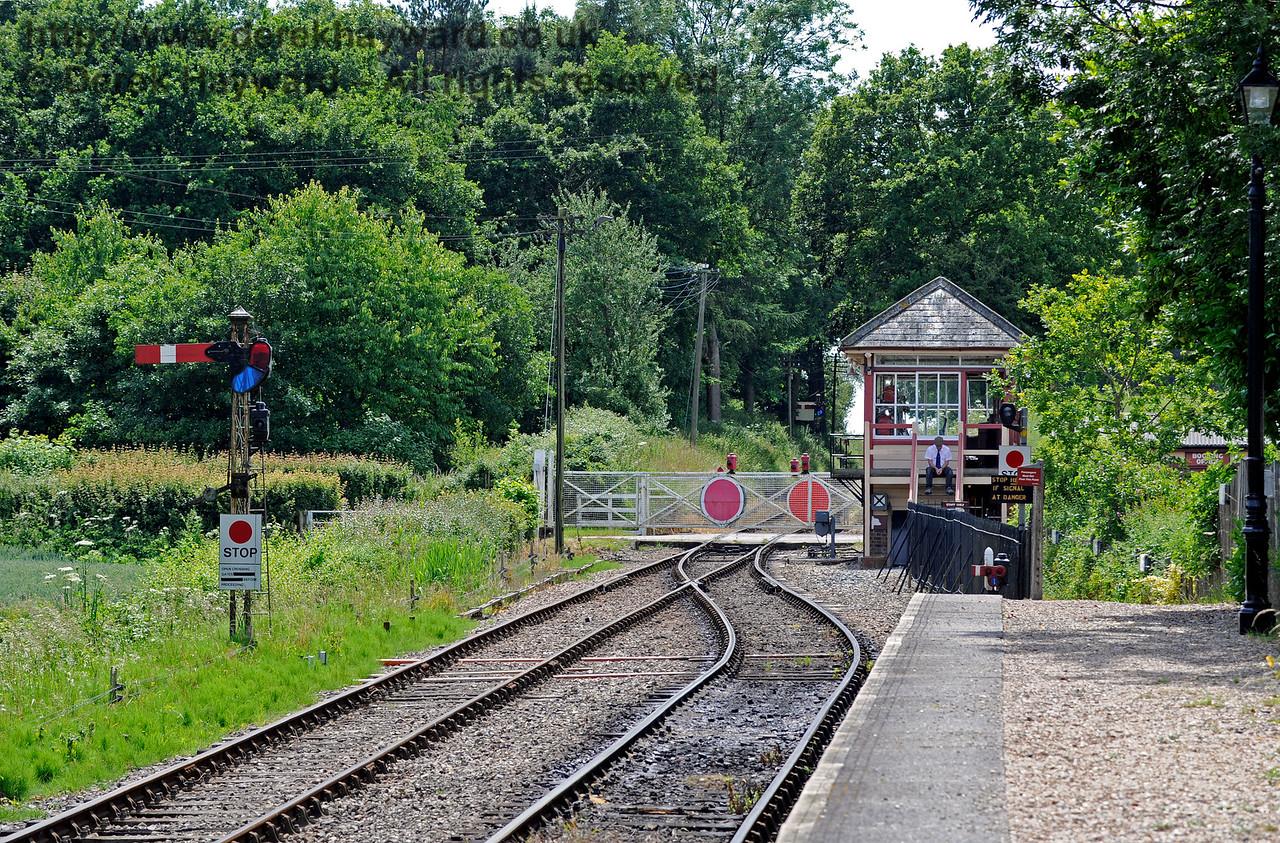 Wittersham Road Station.  24.06.2015  11431