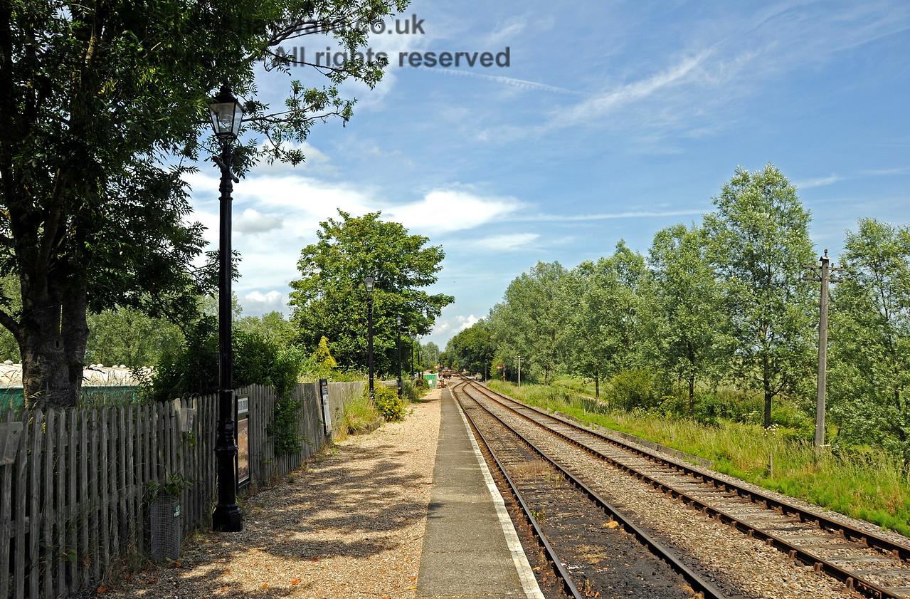 Wittersham Road Station.  24.06.2015  12973