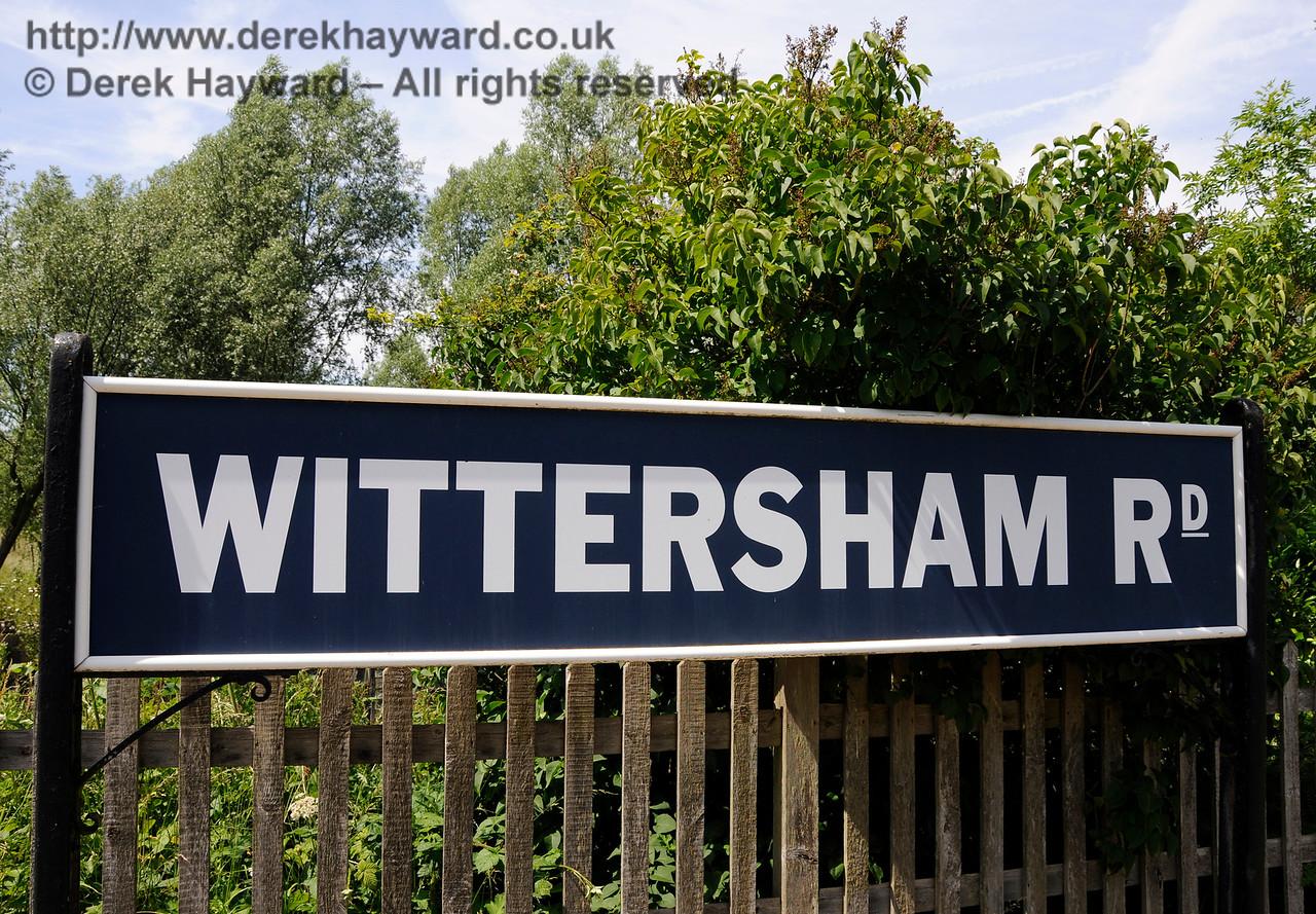Wittersham Road Station.  24.06.2015  12975