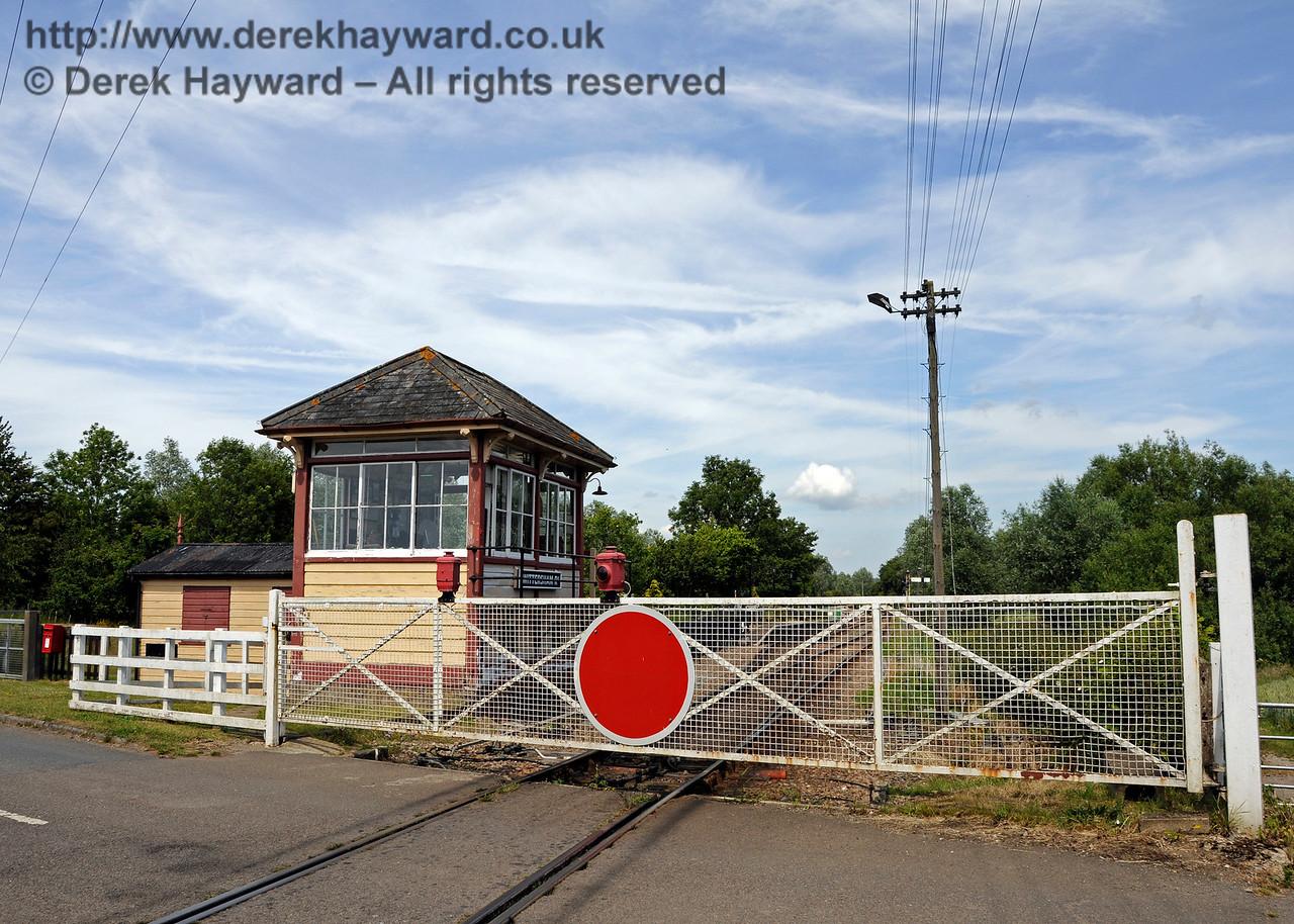 Wittersham Road Station.  24.06.2015  12994