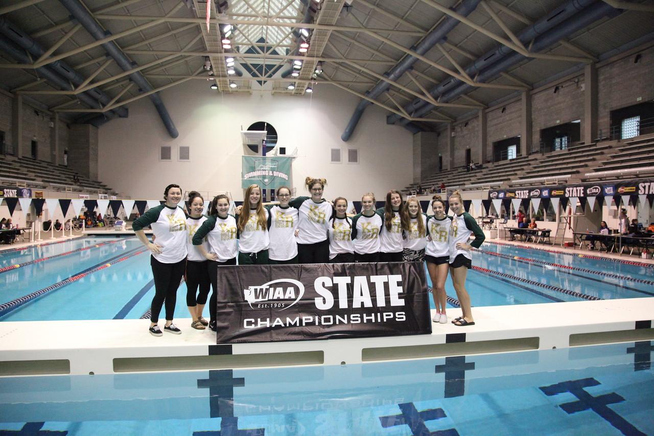 2016 4A Girls Swim and Dive State Prelims - November 11