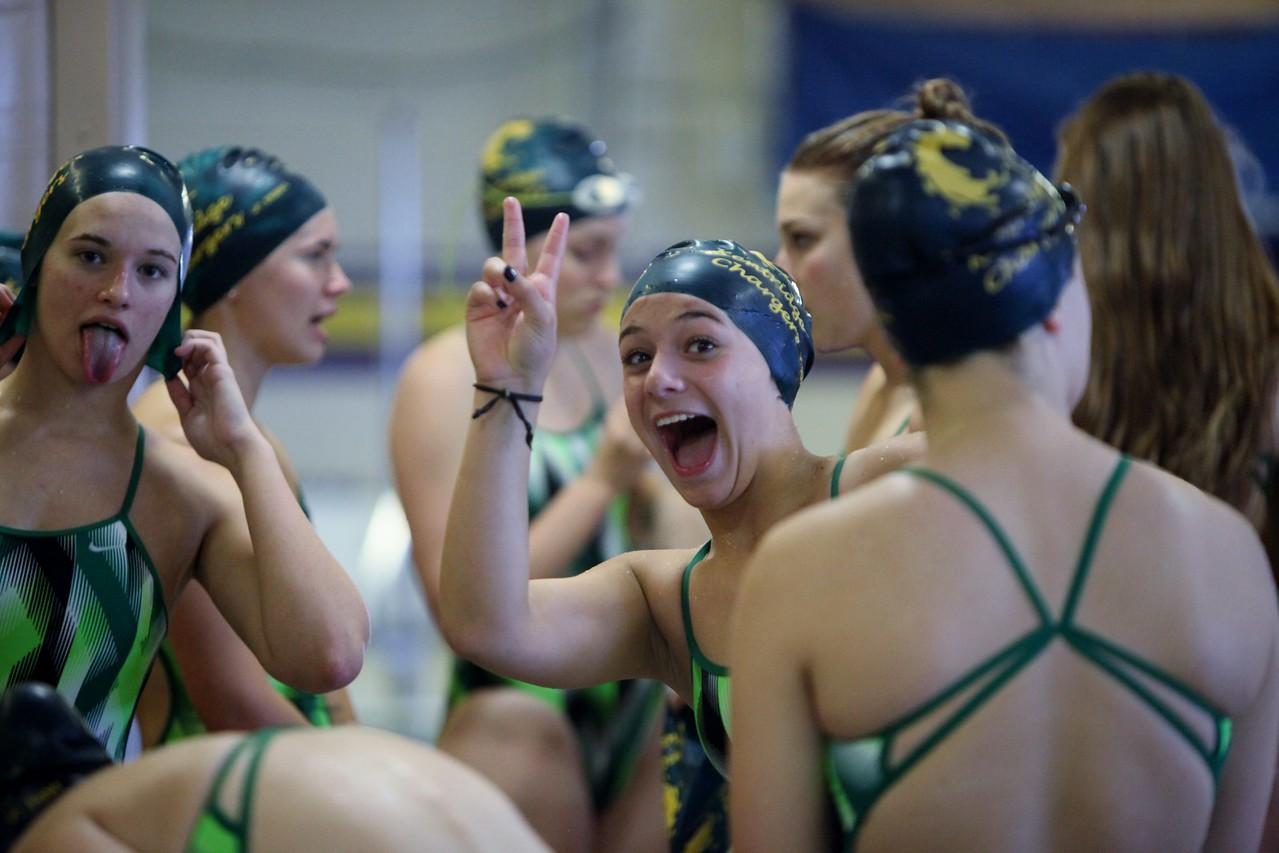 2016 Kentridge Girls Swim and Dive - vs Puyallup - Sept 22