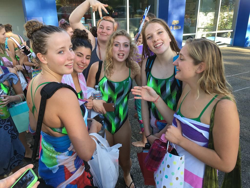 2016 Kentridge Girls Swim and Dive - vs Tahoma - Sept 20