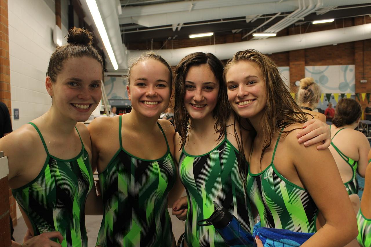 2016 Kentridge Girls Swim & Dive vs Kentwood