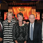 Robert Shook, Jane Smith, honoree Cathy Zion, Earl Zion and Tom Smith.