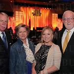 Scott and Juliet Childers, Julia Smith and Dick Wilson.