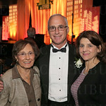 Jean Trager, honoree Steve Trager. and Amy Trager.