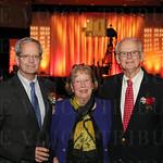 Ted, Edie and Bo Nixon.
