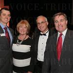 Heath Majors, Margaret Wendler, honoree Steve Trager and Henry Kelsey.