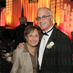 Jean Trager and honoree Steve Trager.