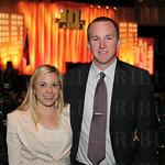 Lauren Becher and Jared Sturgeon.