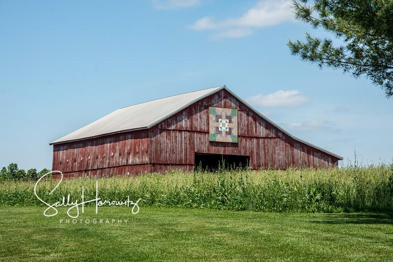 Same barn, taken in 2020.