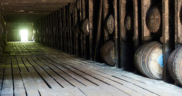 Brandy storage warehouse