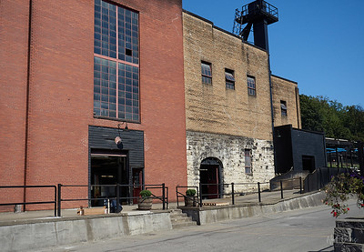 White wall is Original Barton Distillery