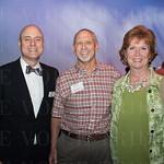 Dan Forte and Ed and Linda Rosen.