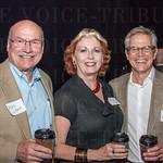 Phil Lynch, Susan McNeese Lynch and Tim Galbraith.