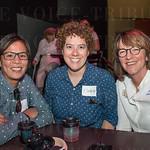 Chi Phan, Elizabeth Savells and Kay Rountree.
