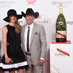 Jessica and Clay Walker.