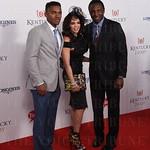 Avery Jr., Cassandra and Avery Johnson.