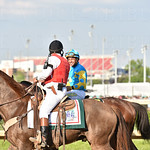 #18-2015 Kentucky Derby winner American Pharaoh ridden by  Victor Espinoza.