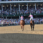 2015 Kentucky Derby 2nd and 3rd place horses.