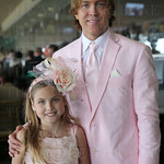 Larry Birkhead and daughter Dannielynn.
