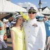 Jennifer Tonder and Lt. Commander Brad Tonder.