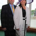 Churchill Downs Racetrack President, Kevin Flanery and his wife, Lori.
