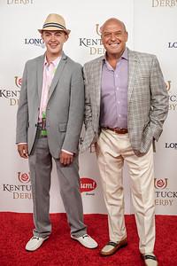 Dean Norris of Breaking Bad TV show with Max Norris
