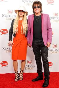 Orianthi Pangaris with  Richie Sambora
