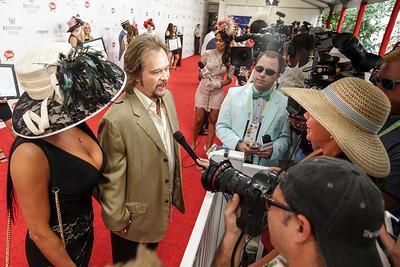 Travis Tritt Interviewed on Red Carpet - Kentucky Derby 142