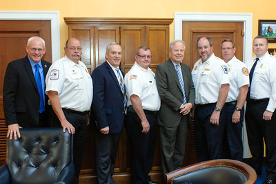 Kentucky Ambulance Providers Association Congressional Delegation with U.S. Representative Ed Whitfield in his House Rayburn office.