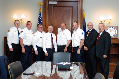Kentucky Ambulance Providers Association Congressional Delegation with Senator Rand Paul in his Russell Senate Office.