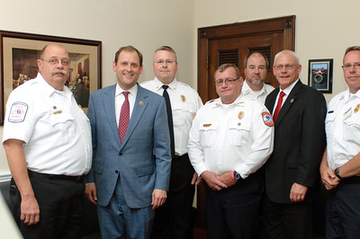 Kentucky Ambulance Providers Association Congressional Delegation with U.S. Representative Andy Barr in his House Longworth Office.