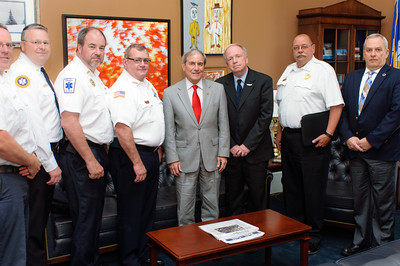 Kentucky Ambulance Providers Association Congressional Delegation with U.S. Representative John Yarmuth in his House Cannon office.