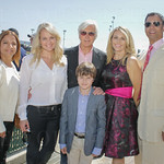Elisa Johnson, Jill, Cody and Bob Baffert and Ginger and Brian Buttrey.