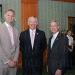 Churchill Downs CEO William Carstanjen, CDI Board Member Alex Rankin and Tom Jenkins.