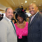 Jim Cauley, Carolyn Tandy and Metro Council President David Tandy.