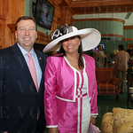 Churchill Downs Track President Kevin Flanery and Lori Flanery.