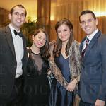 Thomas and Nikki Carver, Ashton Napier and Dan Petersmith.