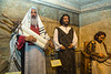 Biblical exhibits at the Creation Museum in Petersburg, Kentucky, USA.