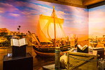 Biblical exhibits inside The Ark at The Ark Encounter, Williamstown, Kentucky, USA.