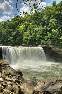 The view of the falls from the Lower Overlook at Cumberland Falls State Resort Park in Corbin, KY on Tuesday, May 28, 2013. Copyright 2013 Jason Barnette