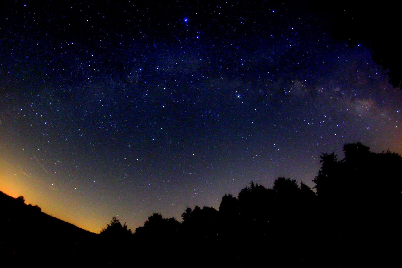 Milky Way over Kentucky