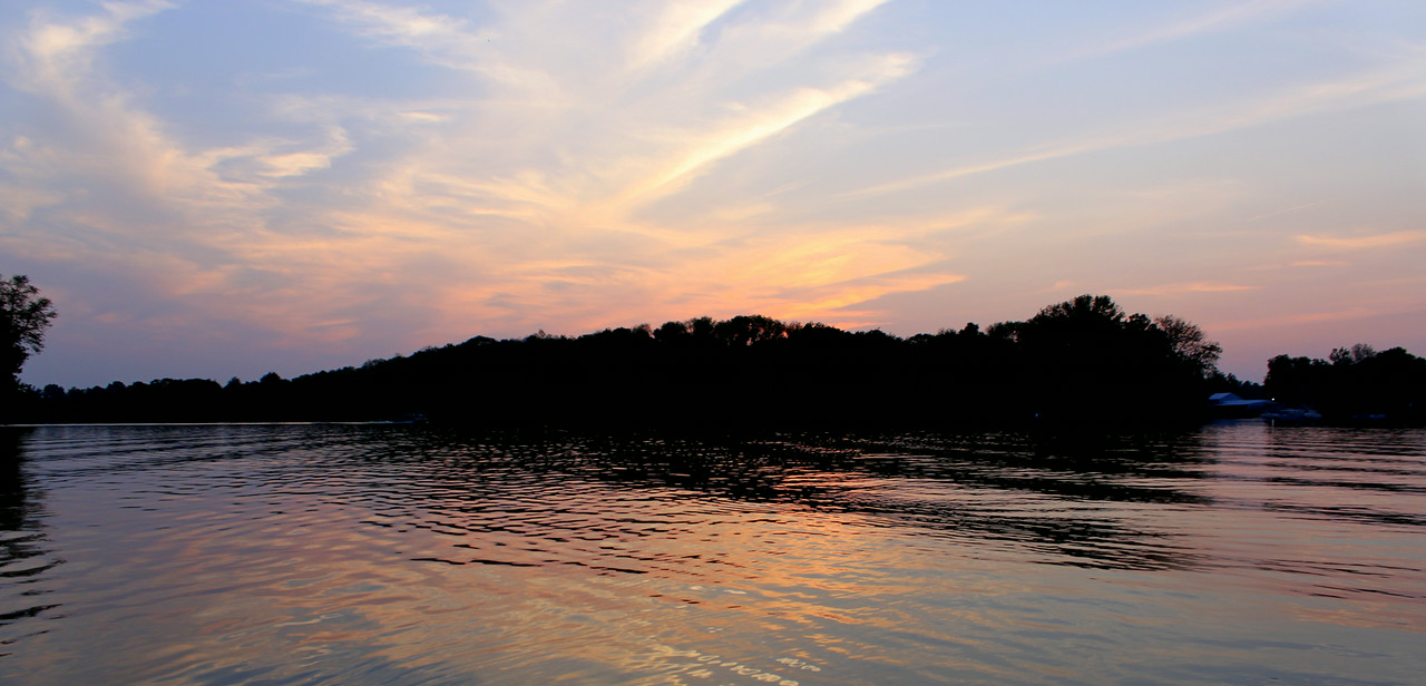 Guist Creek Lake Sunset