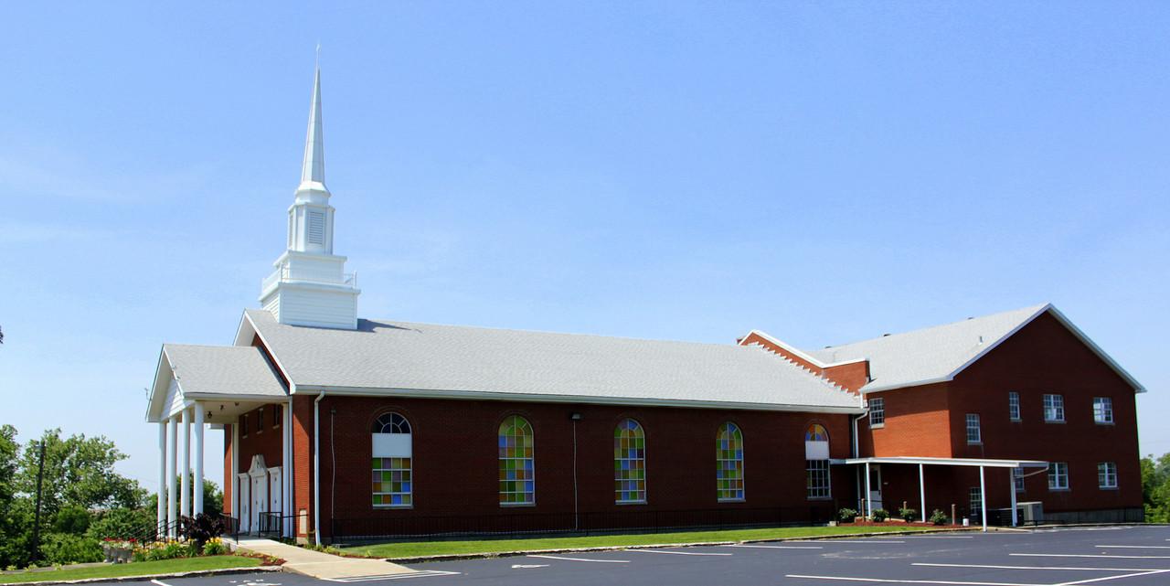 Palestine Baptist Church, Taylor County, Kentucky, USA