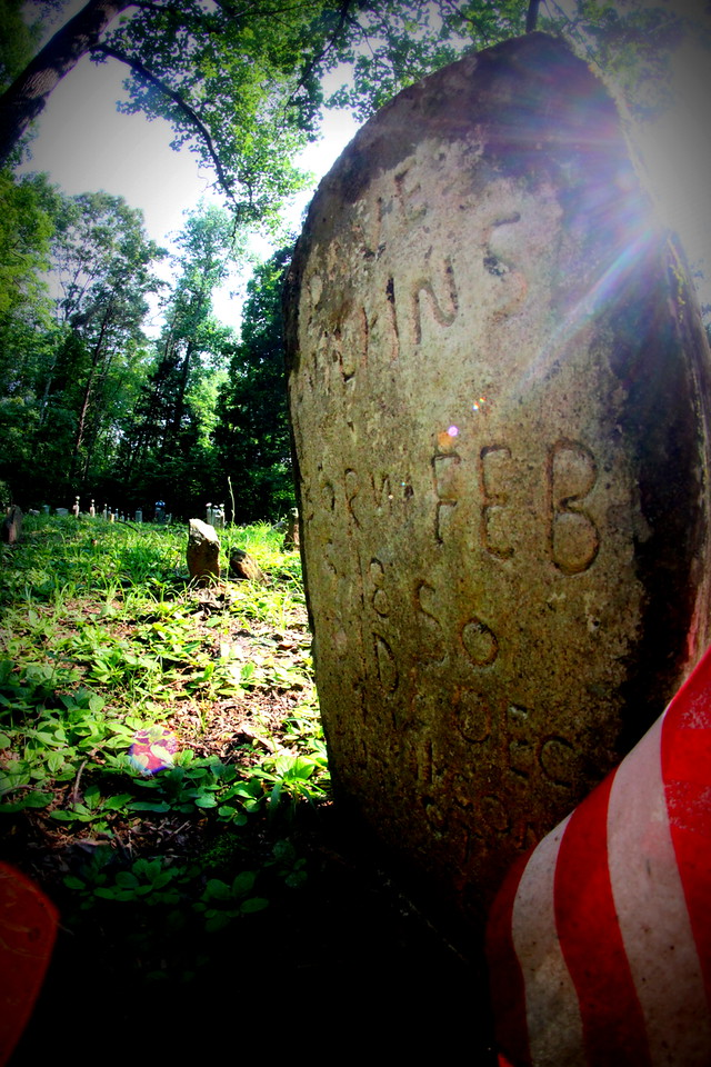 Old Cemetery near Mammoth Cave in Kentucky