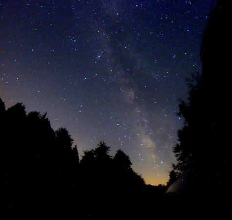 August Milky Way