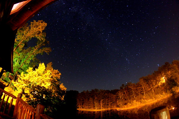 Night Sky in Daniel Boone National Forest