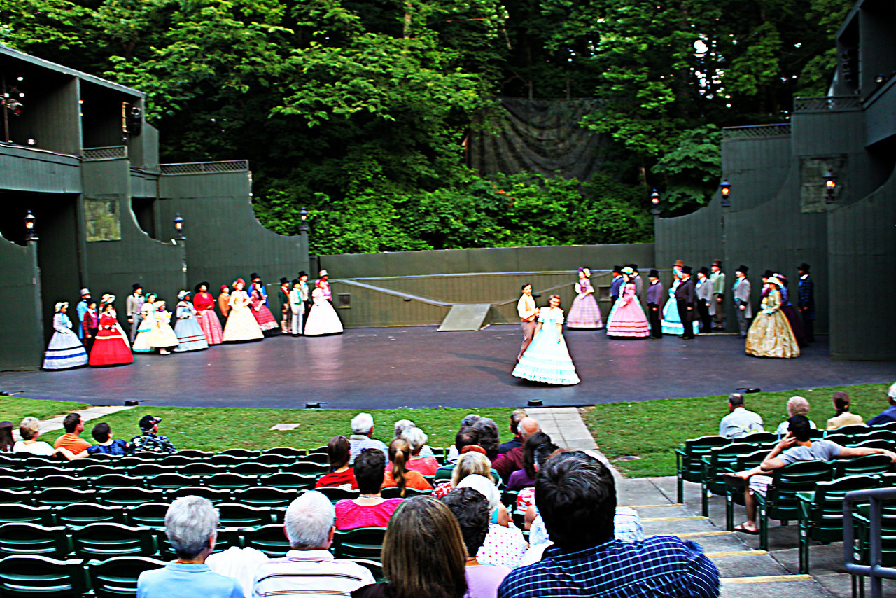 "Stephen Foster - The Musical<br /> <br /> Stephen Collins Foster (July 4, 1826 – January 13, 1864), known as the ""father of American music"", was an American songwriter primarily known for his parlour and minstrel music. Foster wrote over 200 songs; among his best known are ""Oh! Susanna"", ""Camptown Races"", ""Old Folks at Home"", ""My Old Kentucky Home"", ""Jeanie with the Light Brown Hair"", ""Old Black Joe"", and ""Beautiful Dreamer"". Many of his compositions remain popular more than 150 years after he wrote them<br /> <br /> Early life<br /> Foster attended private academies in Allegheny, Athens and Towanda, Pennsylvania. He received an education in English grammar, diction, the classics, penmanship, Latin and Greek, and mathematics. In 1839, his elder brother William was serving his apprenticeship as an engineer at nearby Towanda and thought Stephen would benefit from being under his supervision. The site of the Camptown Races is 30 miles from Athens, and 15 miles from Towanda. Stephen attended Athens Academy from 1839 to 1841. He wrote his first composition, Tioga Waltz, while attending Athens Academy, and performed it during the 1841 commencement exercises; he was 14. It was not published during the composer's lifetime, but it is included in the collection of published works by Morrison Foster. In 1842, Athens Academy was destroyed in a fire.<br /> <br /> His education included a brief period at Jefferson College in Canonsburg, Pennsylvania (now Washington & Jefferson College). His tuition was paid, but Foster had little spending money. Sources conflict on whether he left willingly or was dismissed, but, either way, he left Canonsburg to visit Pittsburgh with another student and didn't return.<br /> <br /> During his teenage years, Foster was influenced greatly by two men. Henry Kleber (1816–1897), one of Stephen's few formal music instructors, was a classically trained musician who emigrated from Darmstadt, Germany, to Pittsburgh and opened a music store. Dan Rice was an entertainer, a clown and blackface singer, making his living in traveling circuses. Although respectful of the more civilized parlor songs of the day, he and his friends would often sit at a piano, writing and singing minstrel songs through the night. Eventually, Foster learned to blend the two genres to write some of his best-known work.<br /> <br /> A career in music<br /> In 1846, Foster moved to Cincinnati, Ohio, and became a bookkeeper with his brother's steamship company. While in Cincinnati, Foster penned his first successful songs—among them ""Oh! Susanna,"" which became an anthem of the California Gold Rush—in 1848–1849. In 1849, he published Foster's Ethiopian Melodies, which included the successful song ""Nelly Was a Lady"", made famous by the Christy Minstrels. A plaque marks the site of Foster's residence in Cincinnati, where the Guilford School building is now located.<br /> <br /> Then he returned to Pennsylvania and signed a contract with the Christy Minstrels. It was during this period that Foster would write most of his best-known songs: ""Camptown Races"" (1850), ""Nelly Bly"" (1850), ""Old Folks at Home"" (known also as Swanee River, 1851), ""My Old Kentucky Home"" (1853), ""Old Dog Tray"" (1853), and ""Jeanie With the Light Brown Hair"" (1854), written for his wife Jane Denny McDowell.<br /> Many of Foster's songs were of the blackface minstrel show tradition popular at the time. Foster sought, in his own words, to, ""...build up taste ... among refined people by making words suitable to their taste, instead of the trashy and really offensive words which belong to some songs of that order.""<br /> <br /> Though many of his songs had Southern themes, Foster never lived in the South and visited it only once, in 1852 by river-boat voyage on his honeymoon, on his brother Dunning's steam boat, the Millinger, which took him down the Mississippi to New Orleans.<br /> <br /> Foster attempted to make a living as a professional songwriter and may be considered innovative in this respect, since this field did not yet exist in the modern sense. Due in part to the limited scope of music copyright and composer royalties at the time, Foster realized very little of the profits his works generated for sheet music printers. Multiple publishers often printed their own competing editions of Foster's tunes, paying Foster nothing. He received $100 for Oh, Susanna.<br /> <br /> Foster moved to New York City in 1860. About a year later, his wife and daughter left him and returned to Pittsburgh. Beginning in 1862, his fortunes decreased, and as they did, so did the quality of his new songs. Early in 1863, he began working with George Cooper, whose lyrics were often humorous and designed to appeal to musical theater audiences. The Civil War created a flurry of newly written music with patriotic war themes, but this did not benefit Foster. During this time he composed a series of Sunday School hymns, including ""Give Us This Day"" (1863).<br /> <br /> Death<br /> Stephen Foster had become impoverished while living at the North American Hotel at 30 Bowery on the Lower East Side of Manhattan, New York. He was reportedly confined to his bed for days by a persistent fever; Foster tried to call a chambermaid, but collapsed, falling against the washbasin next to his bed and shattering it, which gouged his head. It took three hours to get him to Bellevue Hospital. In an era before transfusions and antibiotics, he succumbed three days after his admittance, aged 37.<br /> <br /> His worn leather wallet contained a scrap of paper that simply said, ""Dear friends and gentle hearts,"" along with 38 cents in Civil War scrip and three pennies. Foster was buried in the Allegheny Cemetery in Pittsburgh. One of his most beloved works, ""Beautiful Dreamer,"" was published shortly after his death.<br /> <br /> Source: Wikipedia"